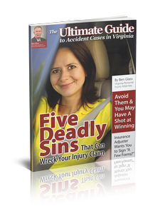 Five Deadly Sins that Could Wreck Your Virginia Injury Claim
