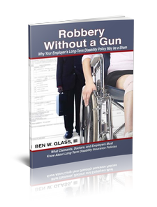 Free Book About Disability Claims | Robbery Without a Gun