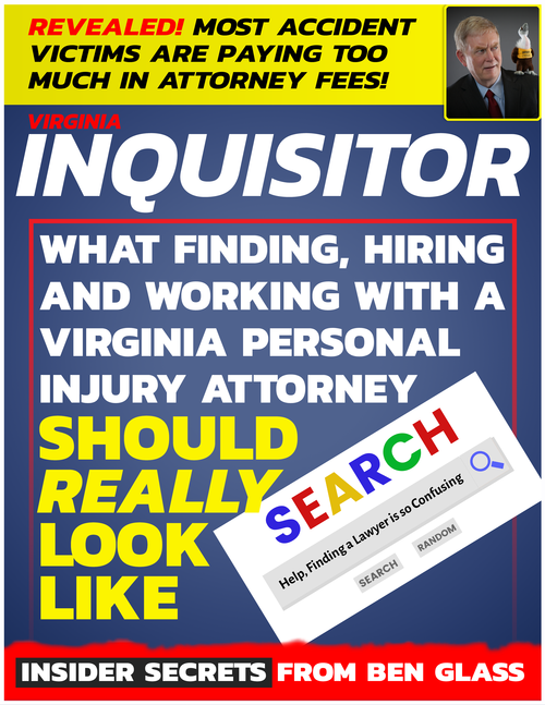 Discover the Secrets to Finding and Hiring an Attorney for your Virginia Personal Injury Case